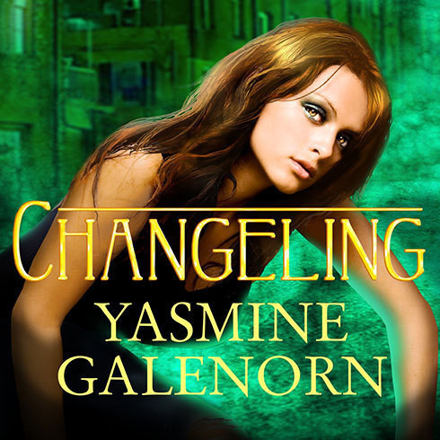 Printable Changeling Audiobook Cover Art