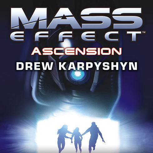 Printable Mass Effect: Ascension Audiobook Cover Art