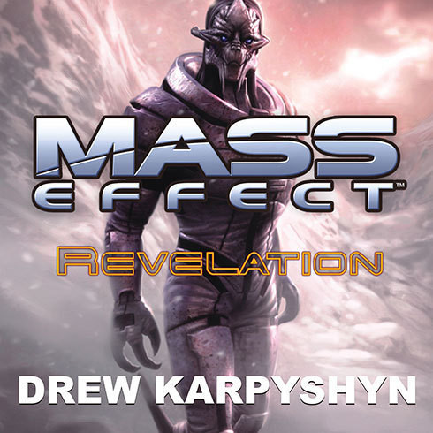 Printable Mass Effect: Revelation Audiobook Cover Art