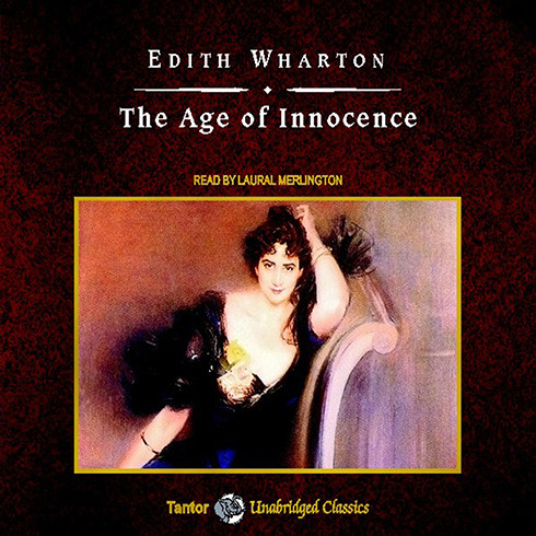 Printable The Age of Innocence Audiobook Cover Art