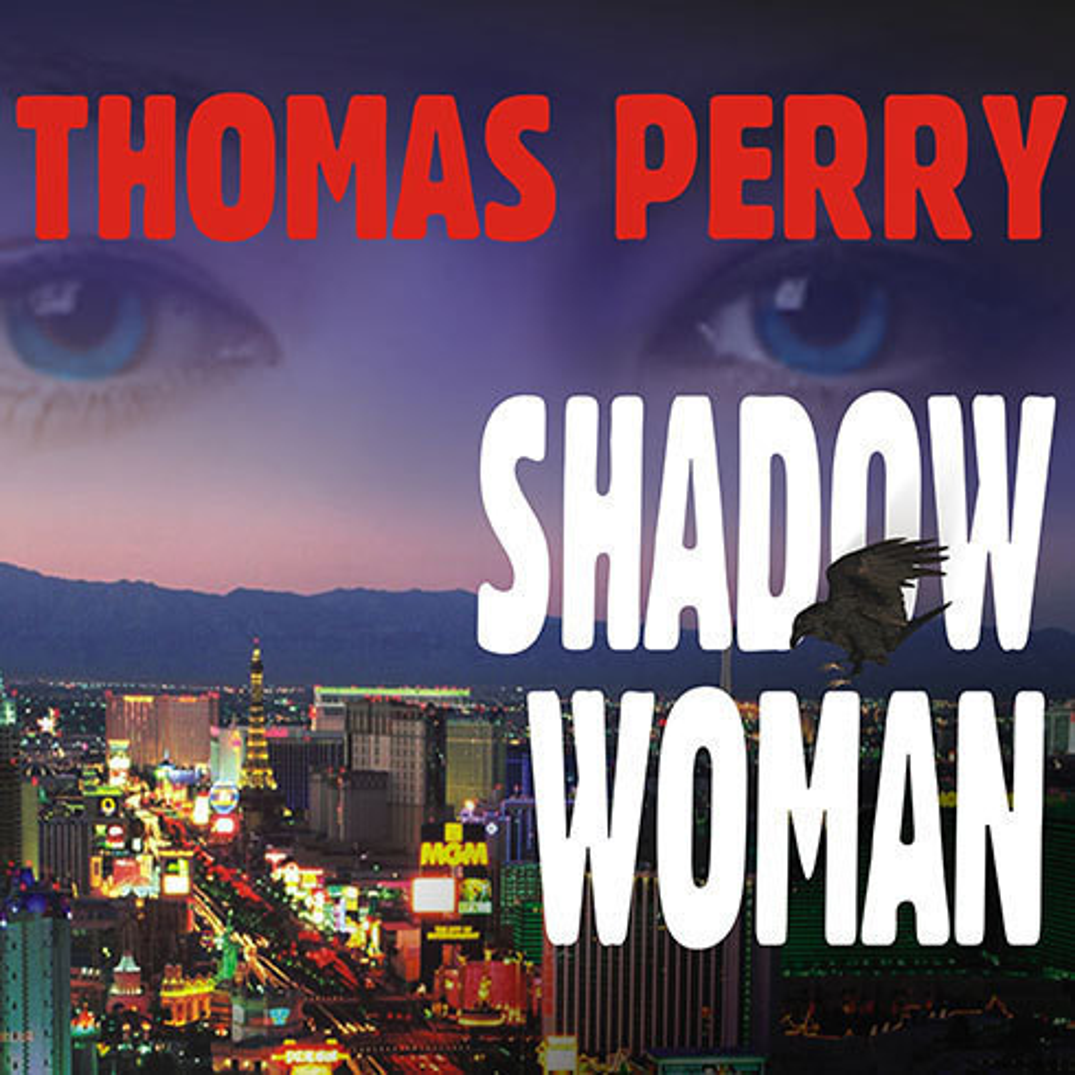 Printable Shadow Woman Audiobook Cover Art