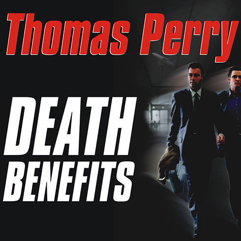 Printable Death Benefits Audiobook Cover Art