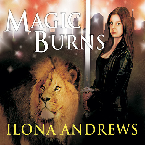 Printable Magic Burns Audiobook Cover Art