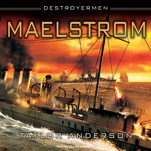 Printable Destroyermen: Maelstrom Audiobook Cover Art