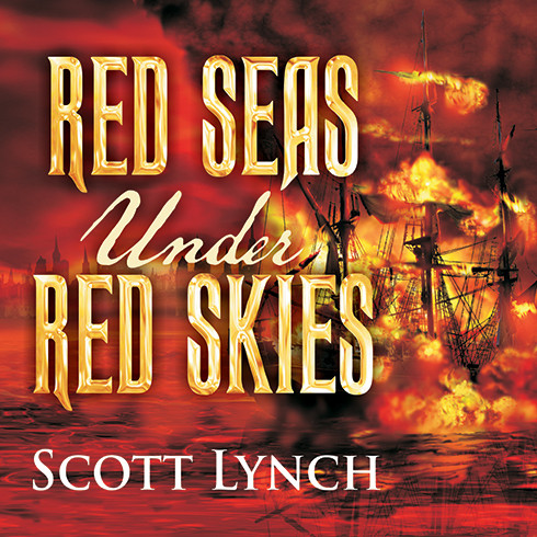 Printable Red Seas under Red Skies Audiobook Cover Art