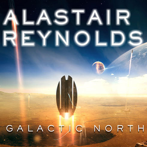 Printable Galactic North Audiobook Cover Art