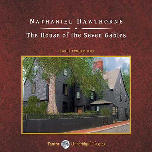 Printable The House of the Seven Gables Audiobook Cover Art