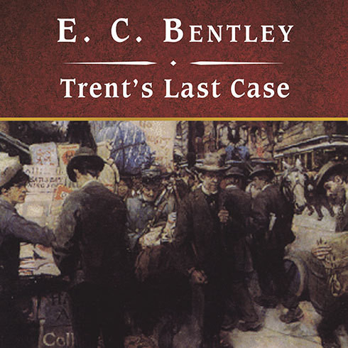 Printable Trent's Last Case Audiobook Cover Art