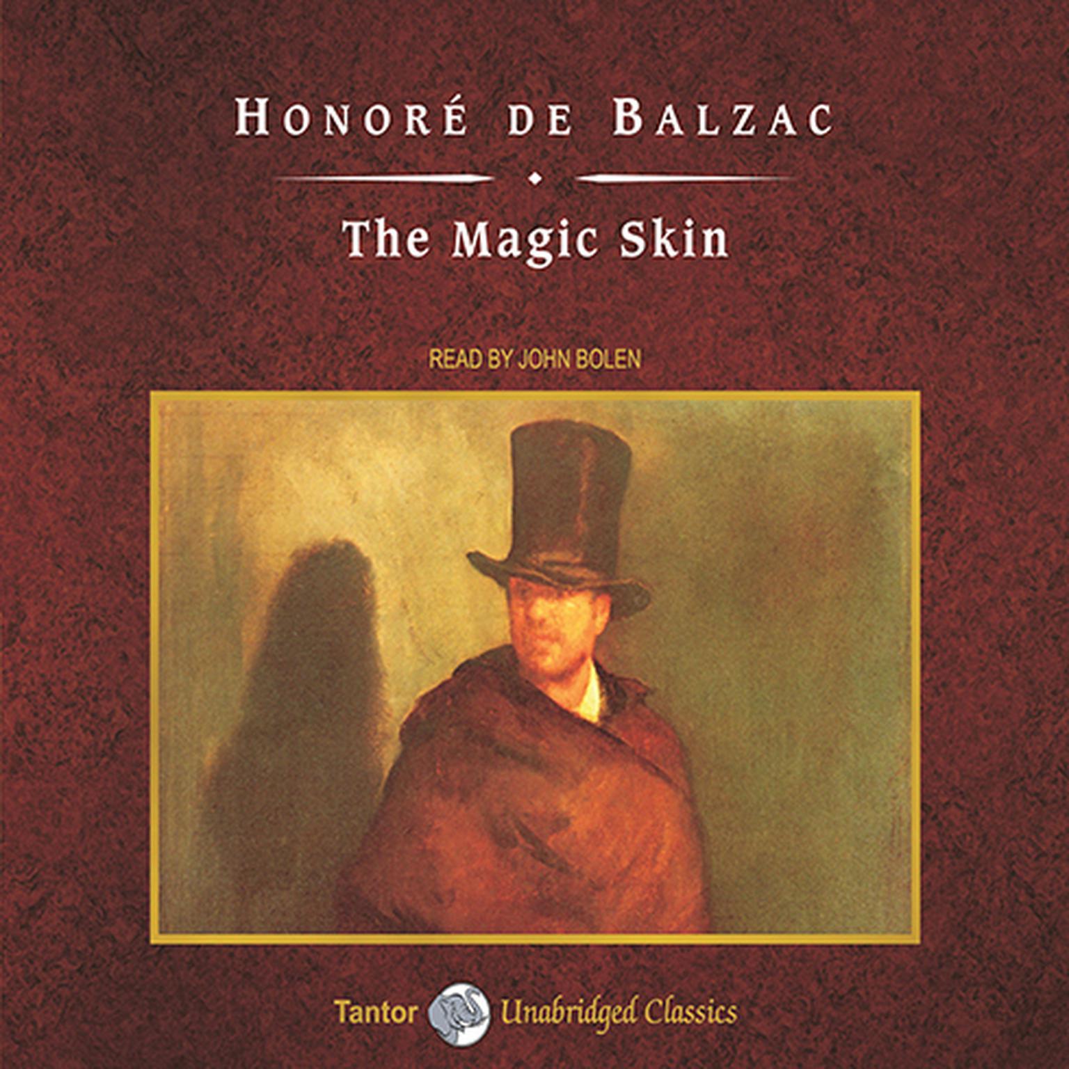 Printable The Magic Skin Audiobook Cover Art