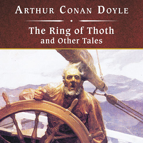 Printable The Ring of Thoth and Other Tales Audiobook Cover Art