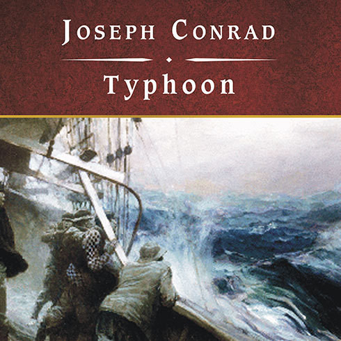 Printable Typhoon Audiobook Cover Art