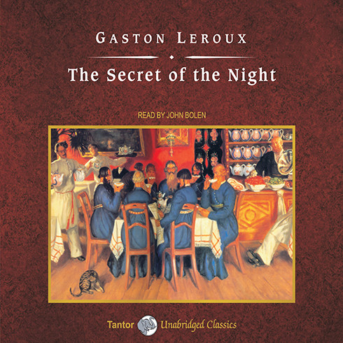 Printable The Secret of the Night Audiobook Cover Art