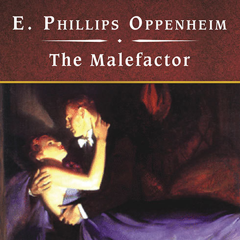 Printable The Malefactor Audiobook Cover Art