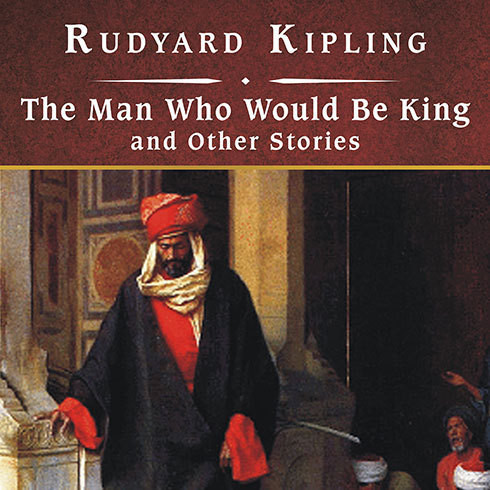 Printable The Man Who Would Be King, and Other Stories Audiobook Cover Art