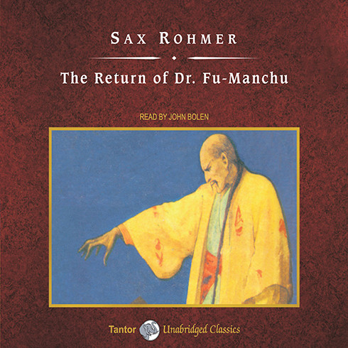 Printable The Return of Dr. Fu-Manchu Audiobook Cover Art