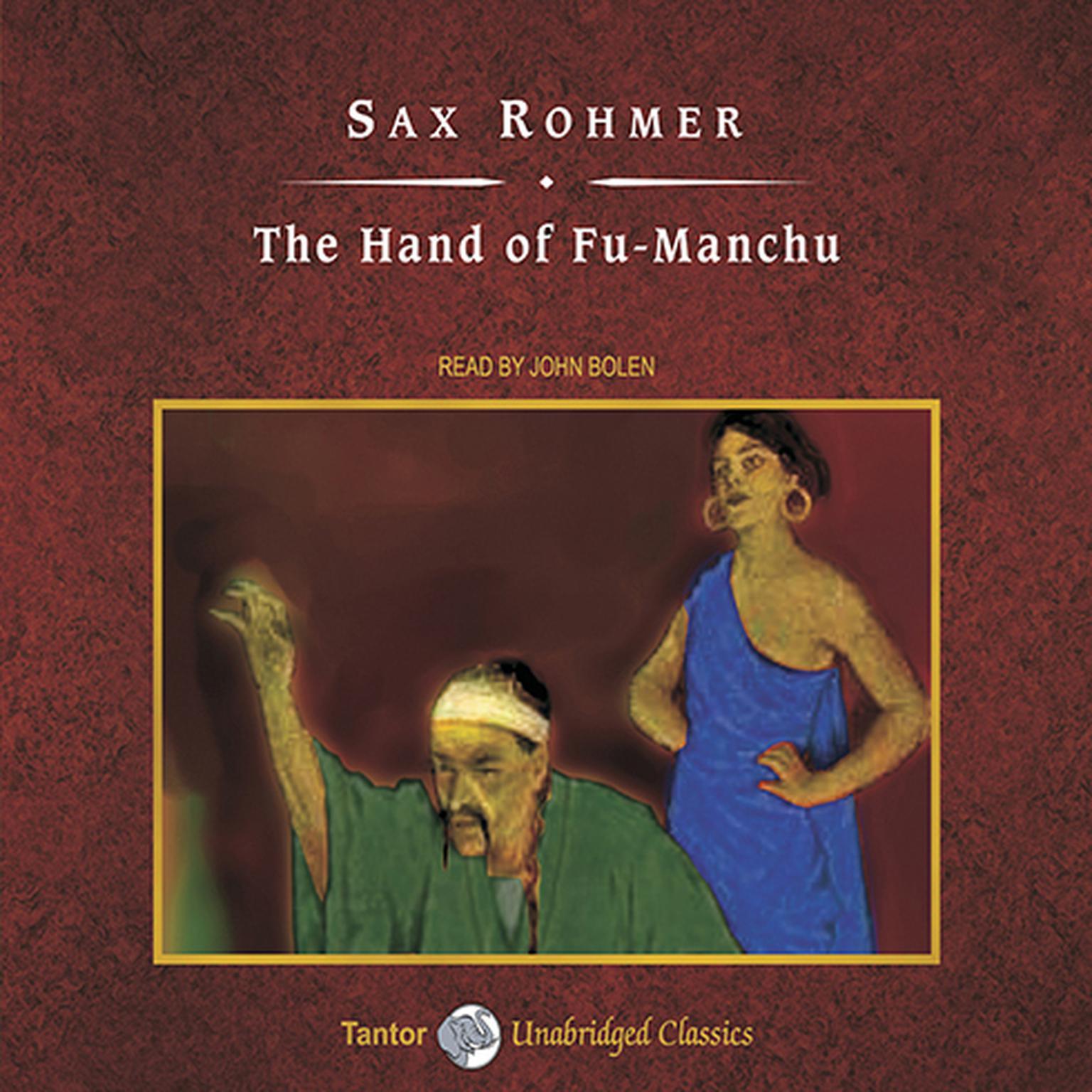 Printable The Hand of Fu-Manchu Audiobook Cover Art