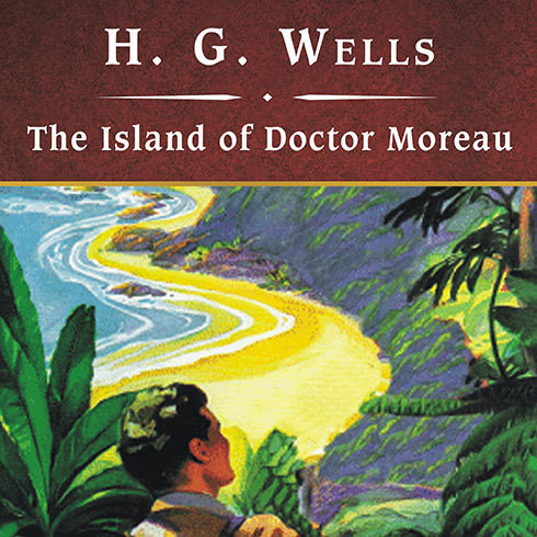Printable The Island of Doctor Moreau Audiobook Cover Art