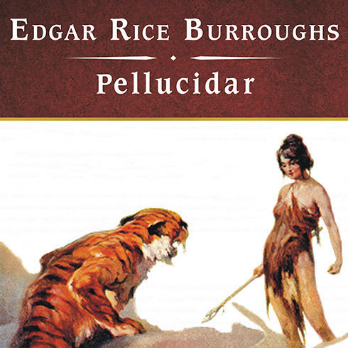 Printable Pellucidar Audiobook Cover Art