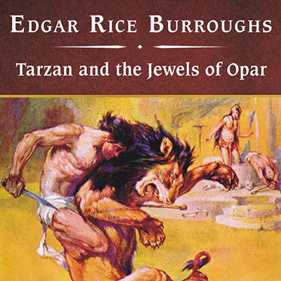 Tarzan and the Jewels of Opar, with eBook Audiobook, by