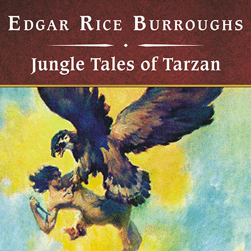 Printable Jungle Tales of Tarzan Audiobook Cover Art