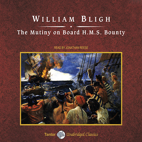 Printable The Mutiny on Board HMS Bounty Audiobook Cover Art