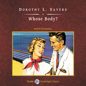 Whose Body?  Audiobook, by Dorothy L. Sayers