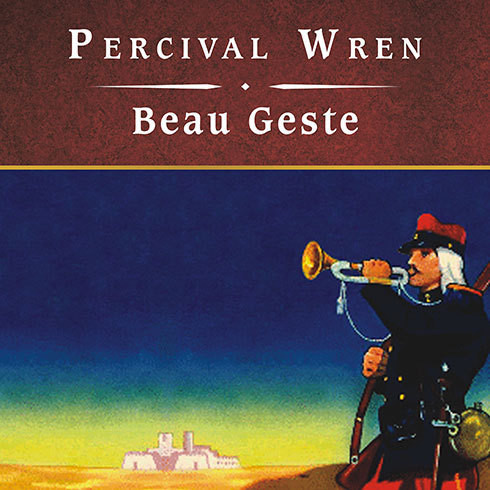 Printable Beau Geste, with eBook Audiobook Cover Art
