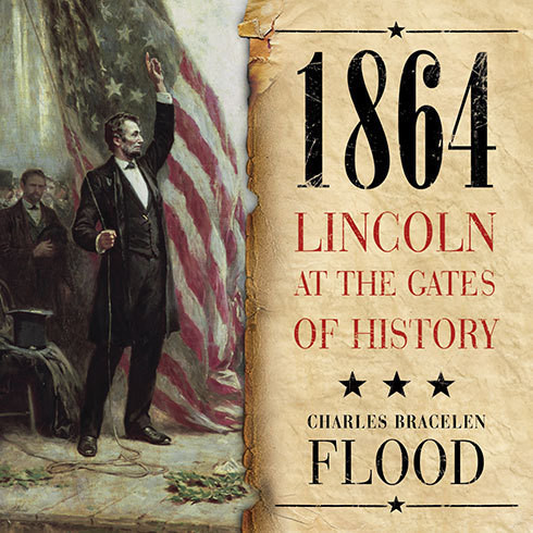 Printable 1864: Lincoln at the Gates of History Audiobook Cover Art