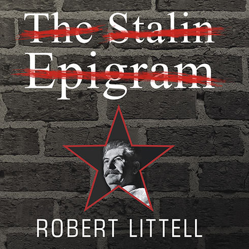 Printable The Stalin Epigram: A Novel Audiobook Cover Art