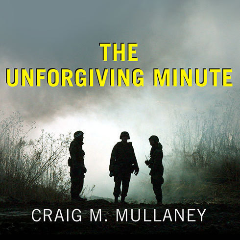 Printable The Unforgiving Minute: A Soldier's Education Audiobook Cover Art