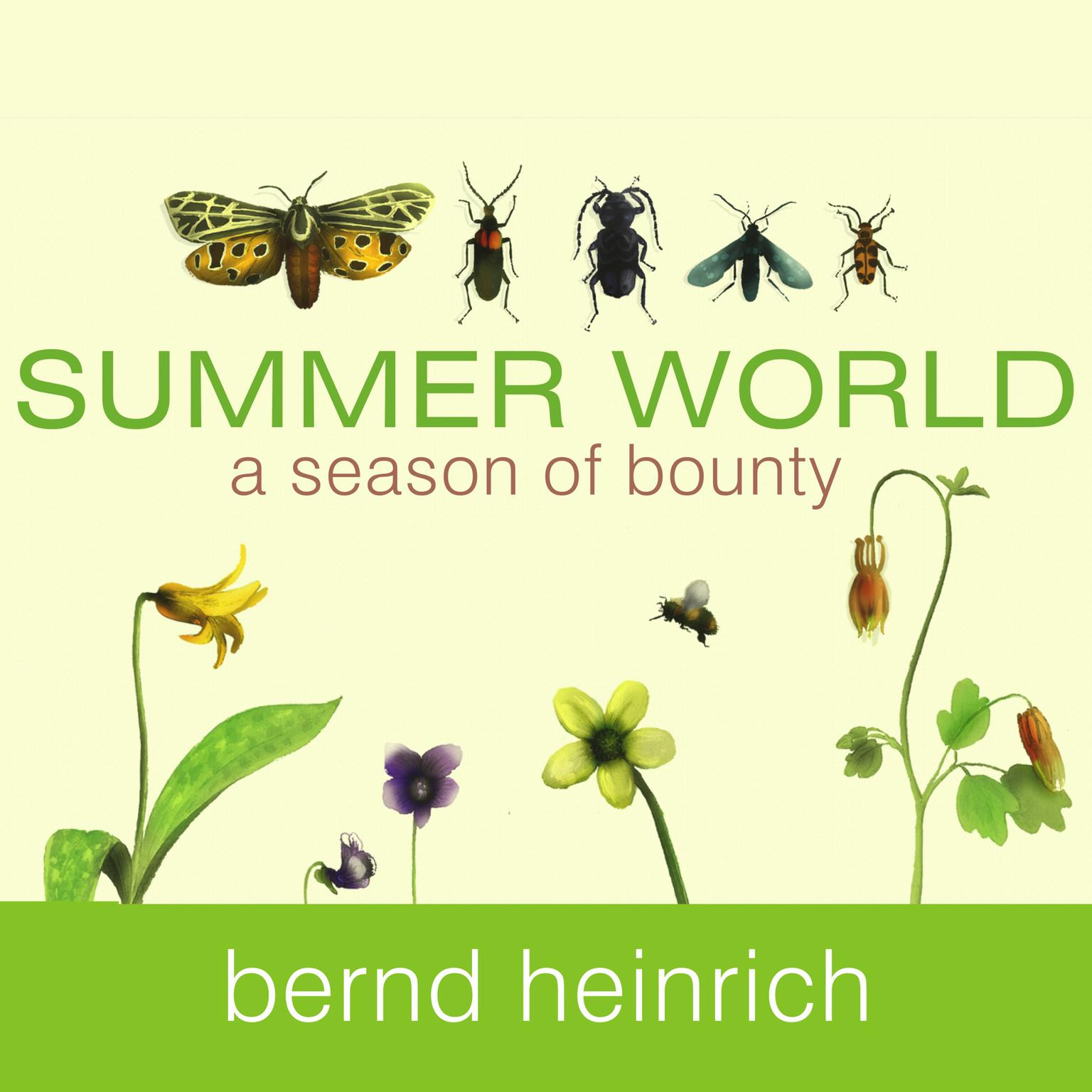 Printable Summer World: A Season of Bounty Audiobook Cover Art