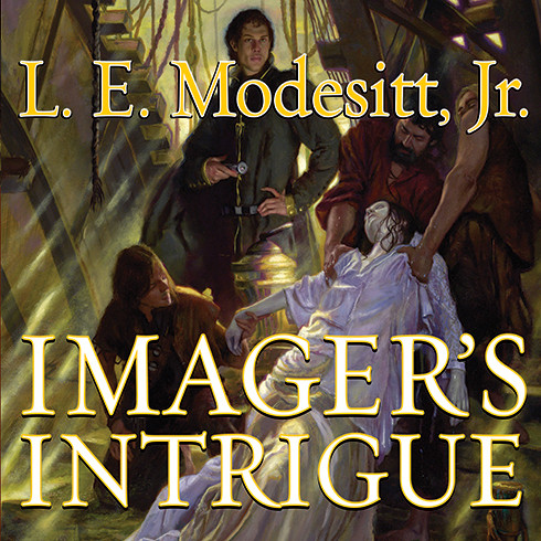 Printable Imager's Intrigue Audiobook Cover Art