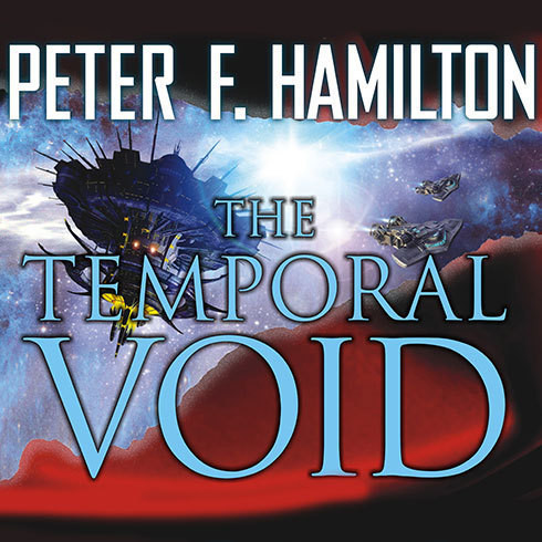 Printable The Temporal Void Audiobook Cover Art