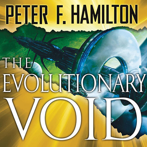 Printable The Evolutionary Void Audiobook Cover Art