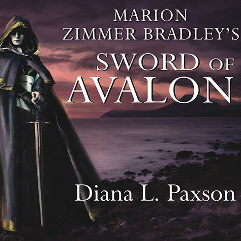 Printable Marion Zimmer Bradley's Sword of Avalon Audiobook Cover Art