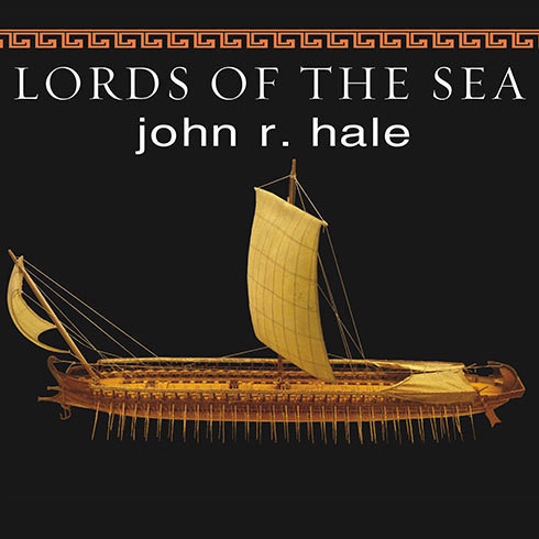 Printable Lords of the Sea: The Epic Story of the Athenian Navy and the Birth of Democracy Audiobook Cover Art