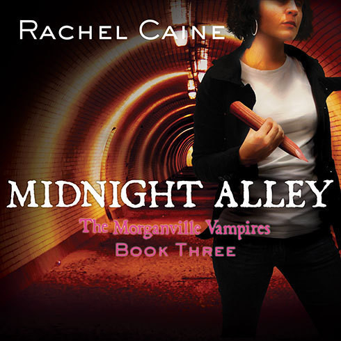 Printable Midnight Alley Audiobook Cover Art