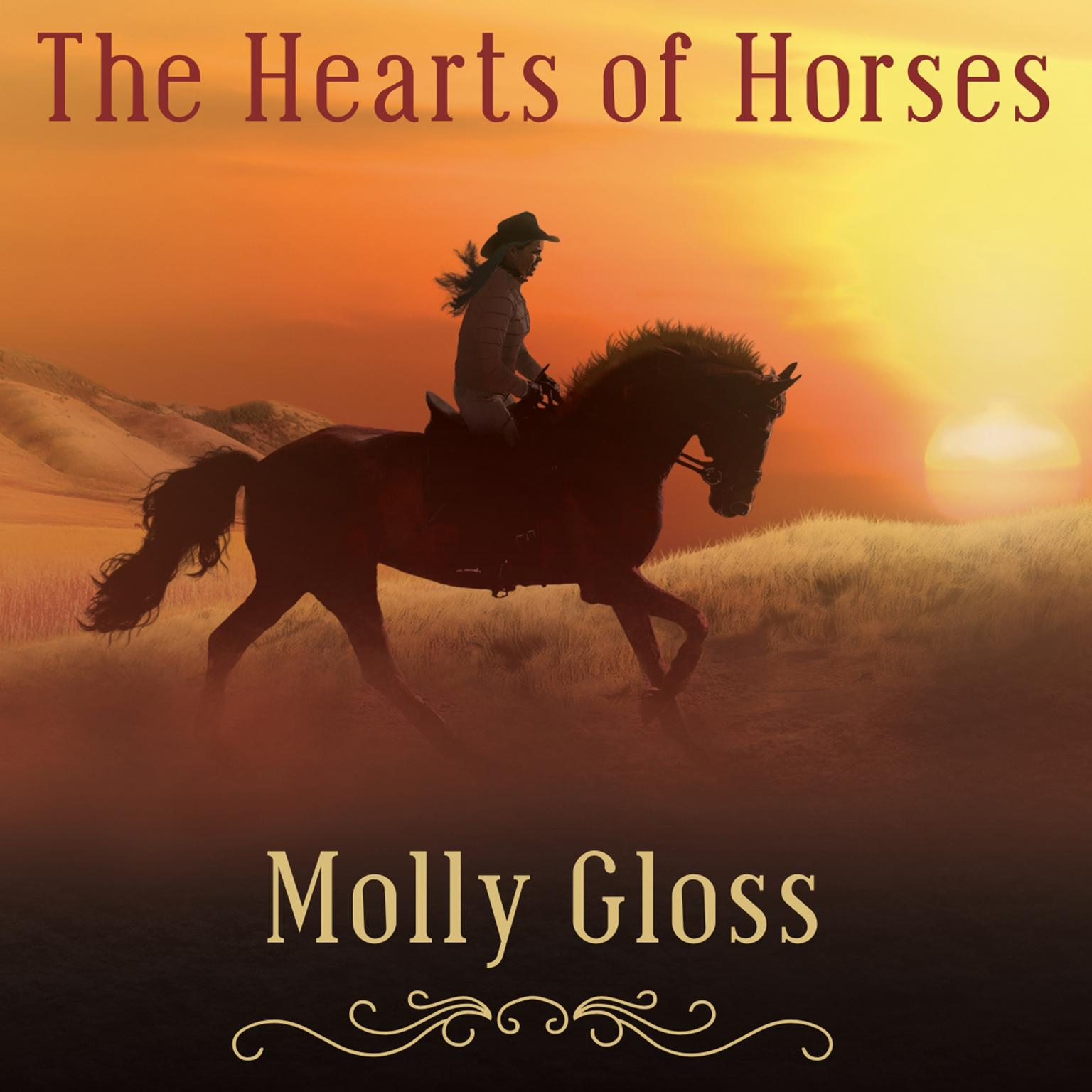 Printable The Hearts of Horses: A Novel Audiobook Cover Art