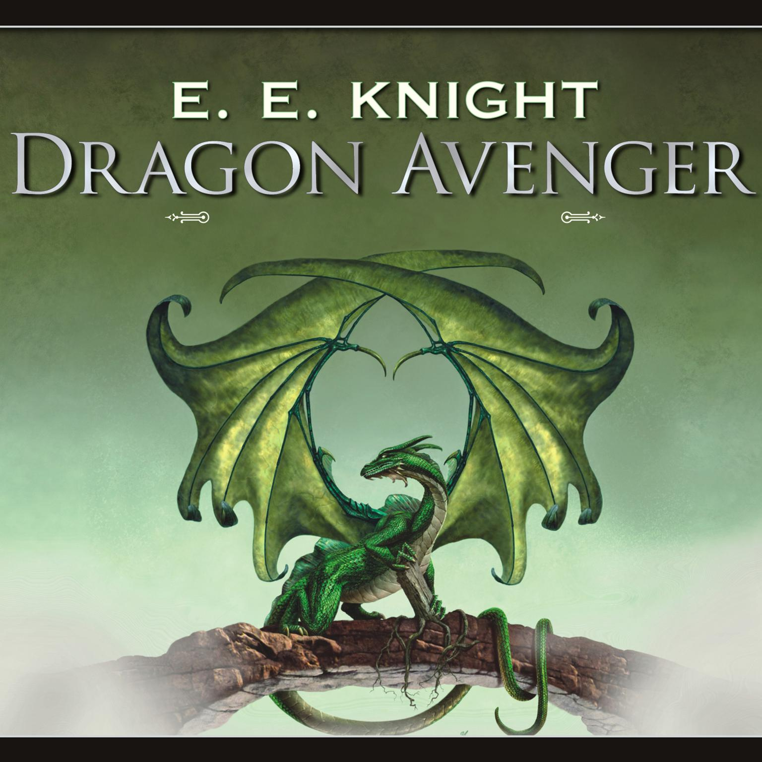 Printable Dragon Avenger Audiobook Cover Art