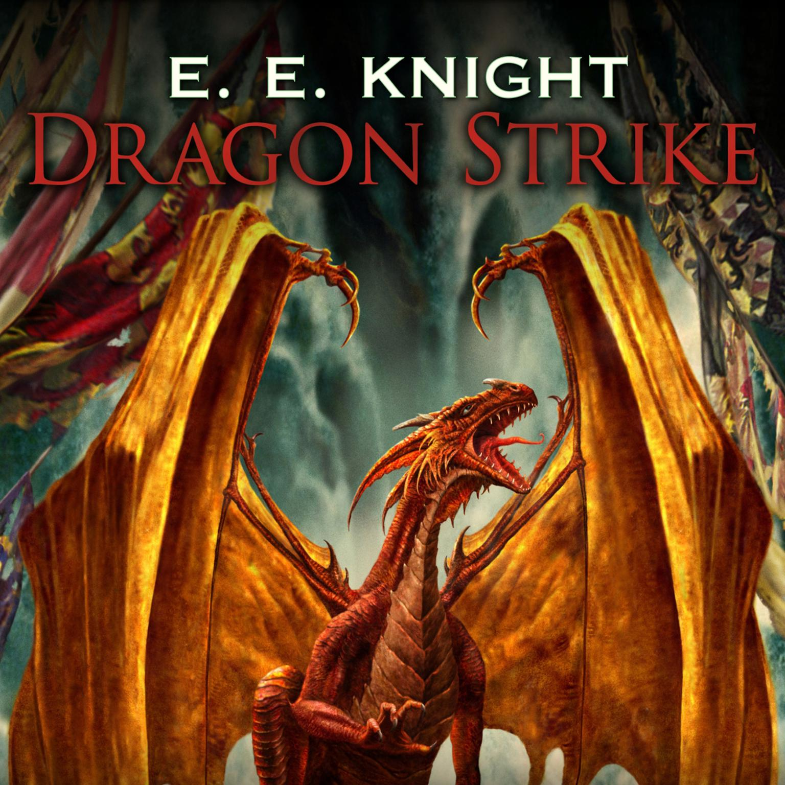 Printable Dragon Strike Audiobook Cover Art