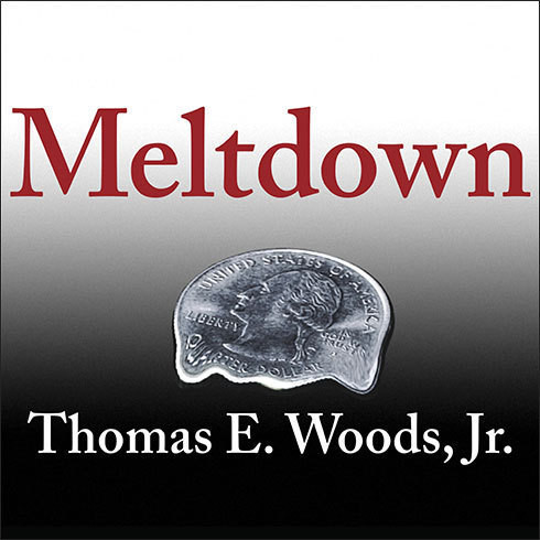 Printable Meltdown: A Free-Market Look at Why the Stock Market Collapsed, the Economy Tanked, and Government Bailouts Will Make Things Worse Audiobook Cover Art