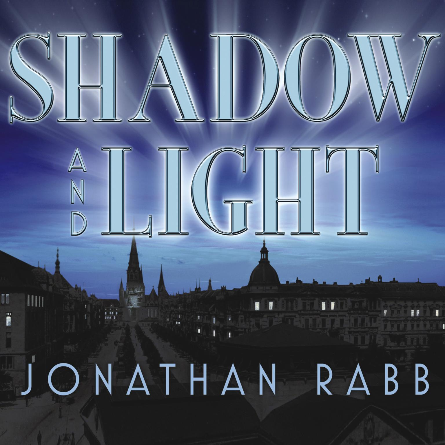 Printable Shadow and Light: A Novel Audiobook Cover Art