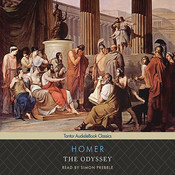 The Odyssey Audiobook, by Homer