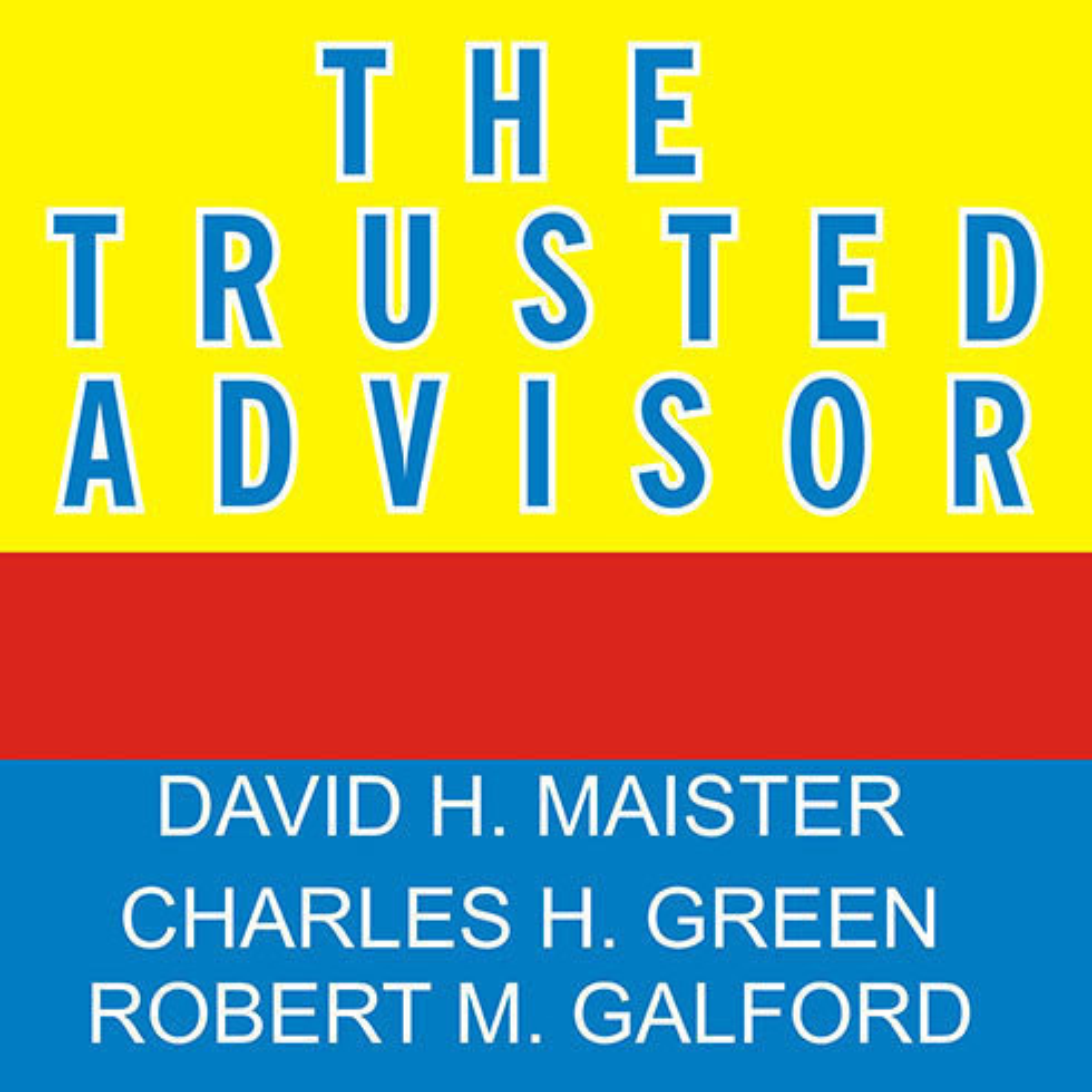 Printable The Trusted Advisor Audiobook Cover Art