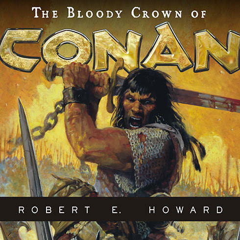 Printable The Bloody Crown of Conan Audiobook Cover Art