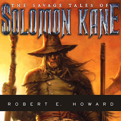 Printable The Savage Tales of Solomon Kane Audiobook Cover Art