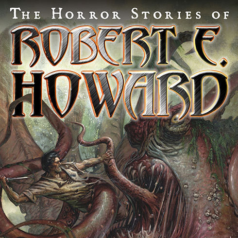 Printable The Horror Stories of Robert E. Howard Audiobook Cover Art