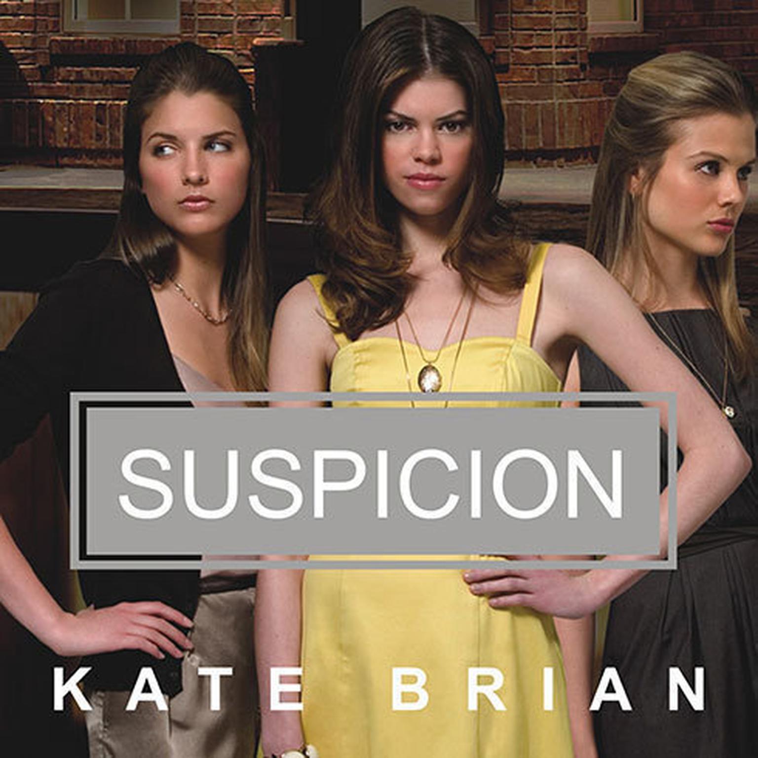 Printable Suspicion Audiobook Cover Art