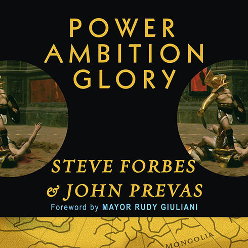 Printable Power, Ambition, Glory: The Stunning Parallels between Great Leaders of the Ancient World and Today … and the Lessons You Can Learn Audiobook Cover Art