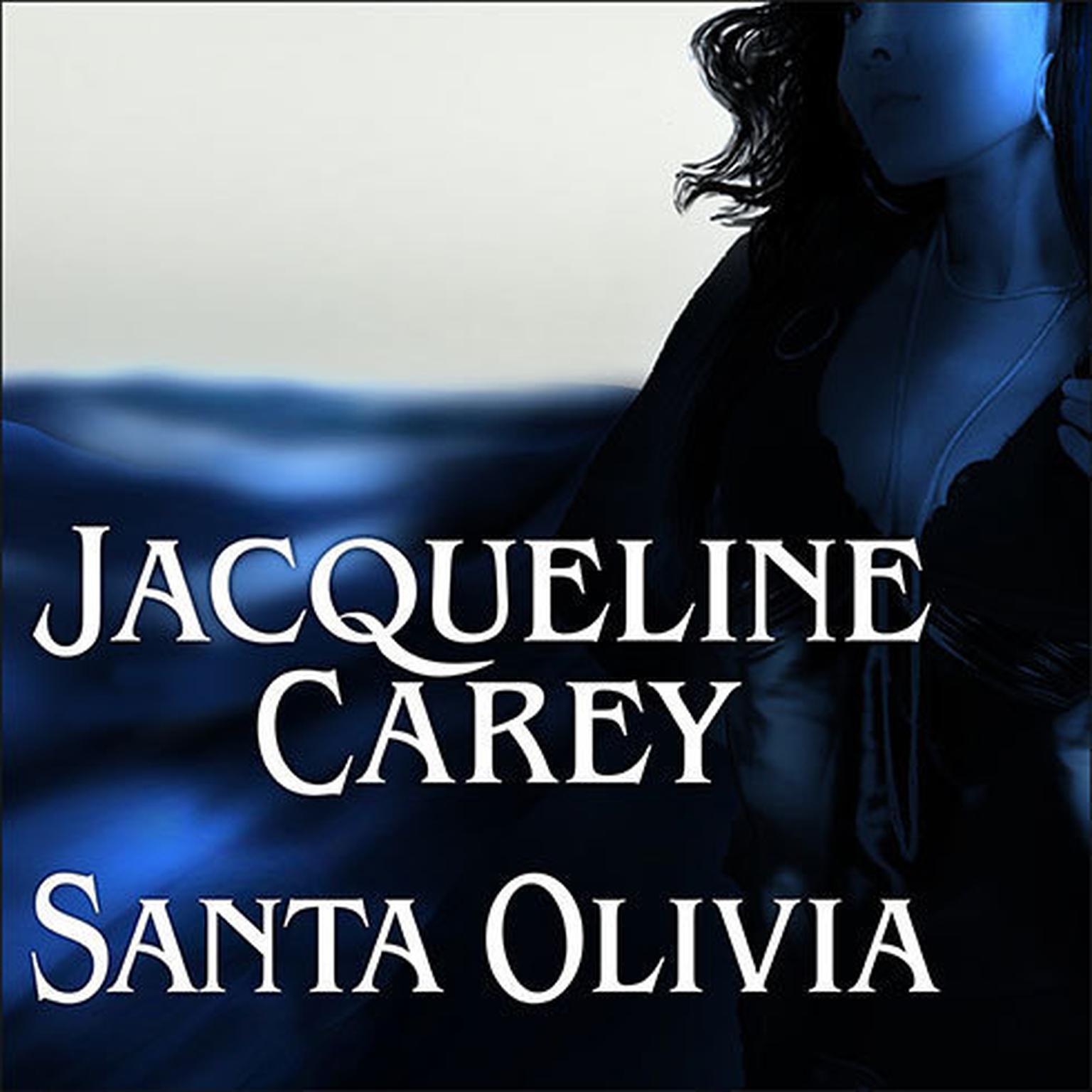 Printable Santa Olivia Audiobook Cover Art